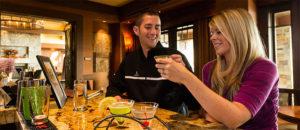 Dining at The Lodge at Suncadia